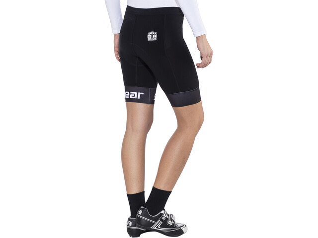 Bioracer Triathlon Shorts Women black/white